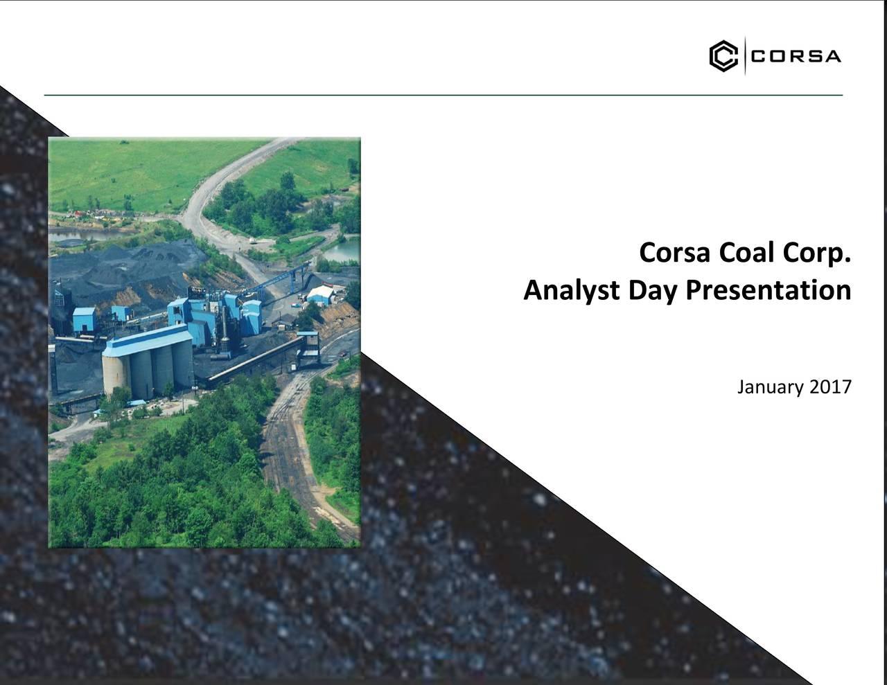 Analyst Day Presentation January 2017